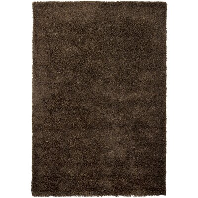 Lively Brown/Tan Area Rug Rug Size: Rectangle 5 x 76