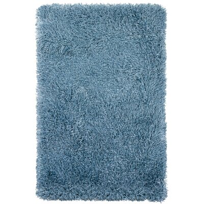 Baptista Blue Solid Area Rug Rug Size: Rectangle 79 x 106