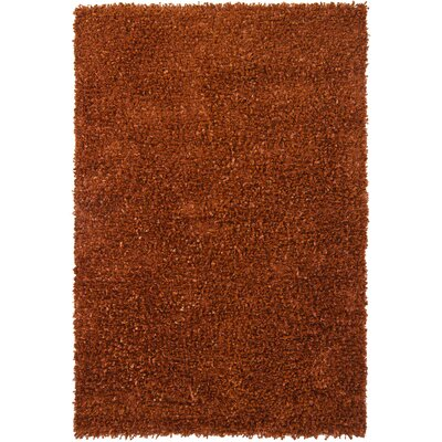 Riza Brown Area Rug Rug Size: 5 x 76