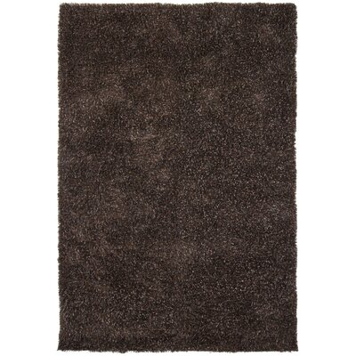 Lively Hand Woven Black/Gray Area Rug Rug Size: Rectangle 79 x 106