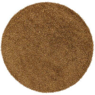 Zara Charcoal Area Rug Rug Size: Round 79