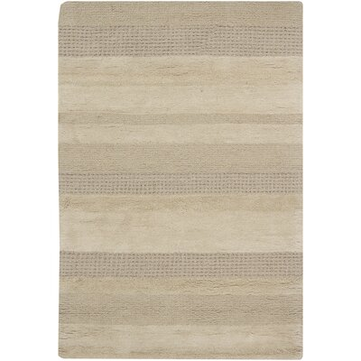 Kha Tan Striped Rug Rug Size: Rectangle 79 x 106
