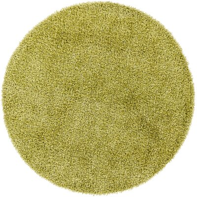 Zara Lime Area Rug Rug Size: Round 79