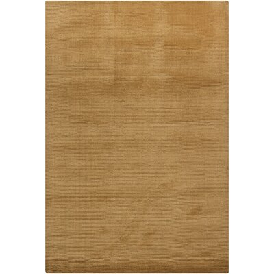 Yiman Gold Area Rug Rug Size: Rectangle 79 x 106