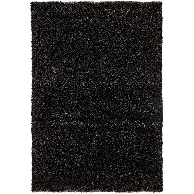 Themis Black Area Rug Rug Size: Rectangle 9 x 13
