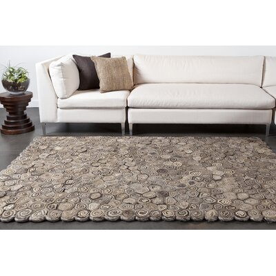 Masterton Brown Area Rug Rug Size: 79 x 106