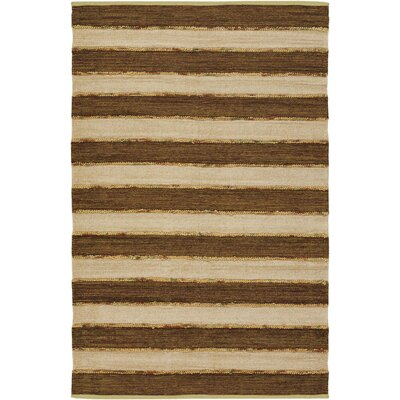 Alda Brown Area Rug Rug Size: Runner 26 x 76