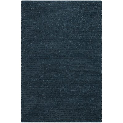 Alpine Dark Blue Area Rug Rug Size: 5 x 76