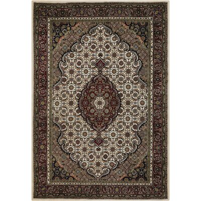 McBain Ivory Area Rug Rug Size: Rectangle 2' x 3'