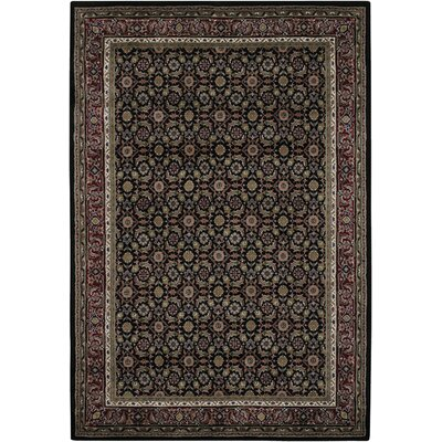 McBain Black Area Rug Rug Size: Rectangle 2 x 3