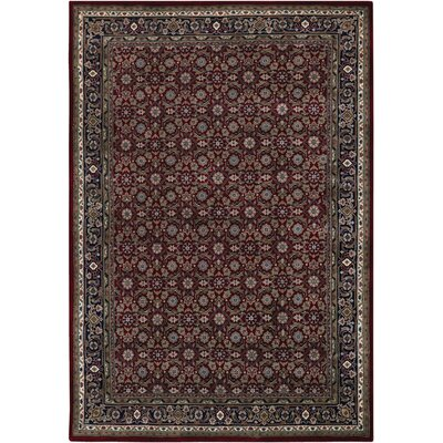 McBain Burgundy Rug Rug Size: Rectangle 2 x 3