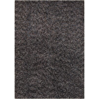 Steil Black Area Rug Rug Size: Rectangle 79 x 106