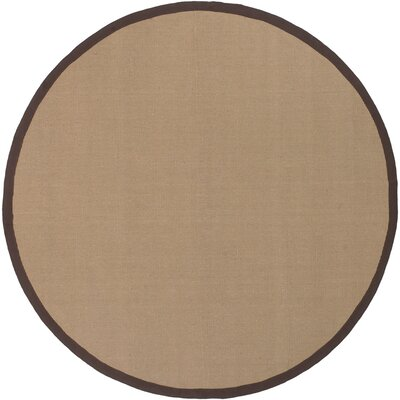 Bay Beige/Brown Area Rug Rug Size: Square 8