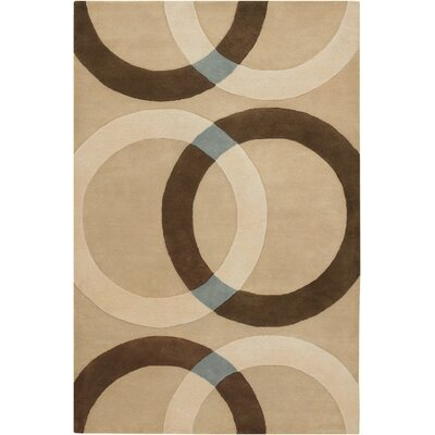 Altamirano Tan Area Rug Rug Size: Rectangle 2 x 3