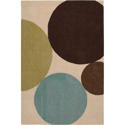 Stickel Sand Area Rug Rug Size: Rectangle 79 x 106