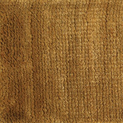 Bowlin Gold Area Rug Rug Size: Rectangle 5 x 76