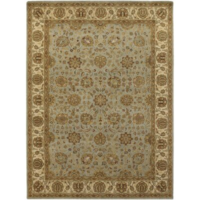 Cesta Tan / Light Grey Area Rug Rug Size: 79 x 106