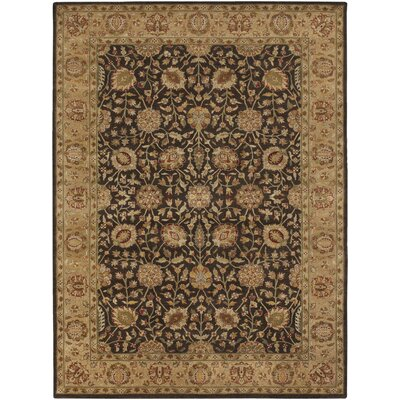 Upney Chocolate Area Rug Rug Size: 79 x 106