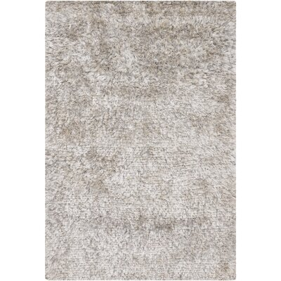Themis Gray Area Rug Rug Size: Rectangle 5 x 76