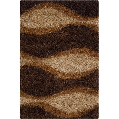 Stockwell Chocolate Area Rug Rug Size: Runner 26 x 76