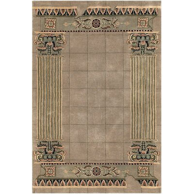 Kante Brown Area Rug Rug Size: 79 x 106