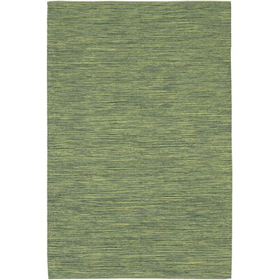 Elbeni Contemporary Green Area Rug Rug Size: 79 x 106