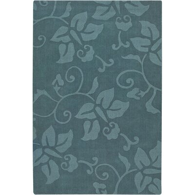 Chloe Blue Area Rug Rug Size: Rectangle 7 x 10