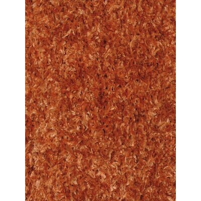 Kadiri Orange Area Rug Rug Size: 79 x 106