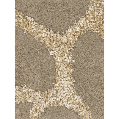 Liberty Brown Rug Rug Size: 2 x 3