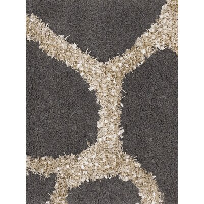 Jacques Grey Rug Rug Size: 79 x 106