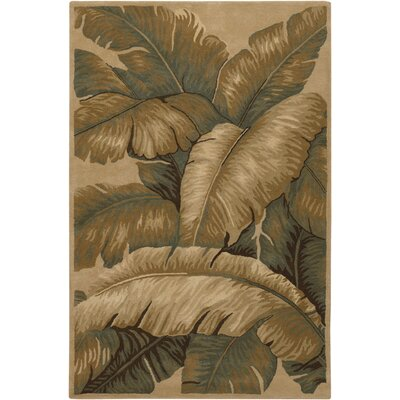 Kam Taupe Area Rug Rug Size: 5 x 76