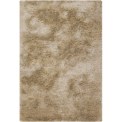 Levy Hand Woven Beige/White Area Rug Rug Size: 79 x 106