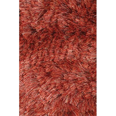 Levy Rust Area Rug Rug Size: Runner 26 x 76