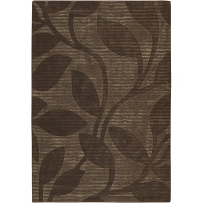Brewington Brown Area Rug Rug Size: 79 x 106