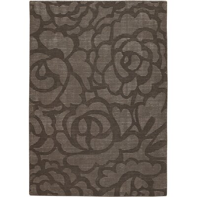 Brewington Chocolate Area Rug Rug Size: 79 x 106