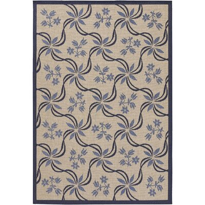 Leibowitz Light Purple/Tan Area Rug Rug Size: Rectangle 52 x 75