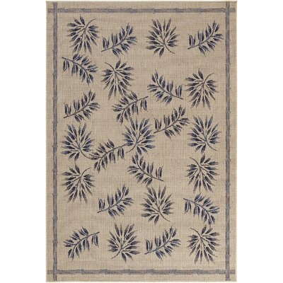 Leibowitz Light Brown Area Rug Rug Size: Rectangle 52 x 75