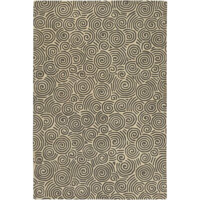Burnestown Grey Area Rug Rug Size: 5 x 76
