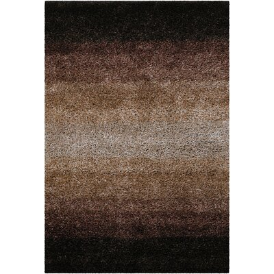 Bensley Brown Area Rug Rug Size: Round 79