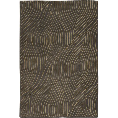 Samford Brown Area Rug Rug Size: 79 x 106
