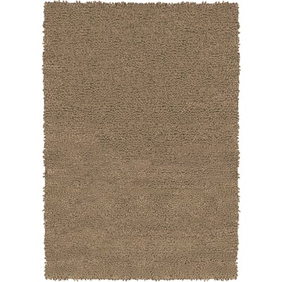 Strata Light Brown Area Rug Rug Size: Round 79