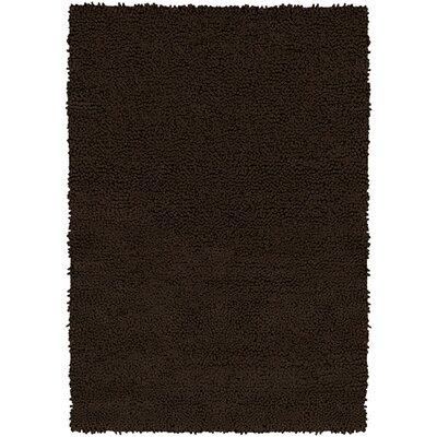Strata Black Area Rug Rug Size: Rectangle 5' x 7'6