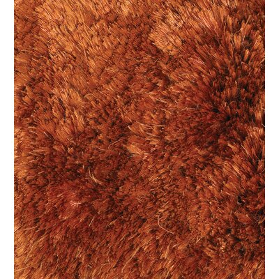 Sunlight Orange Area Rug Rug Size: 2' x 3'