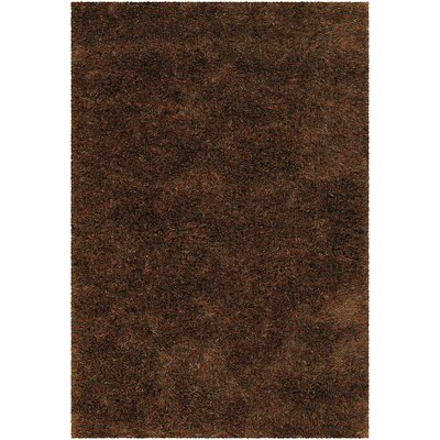 Tallis Brown Area Rug Rug Size: Runner 26 x 76