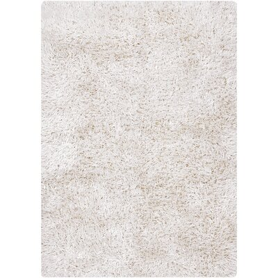 Arden White Area Rug Rug Size: Rectangle 79 x 106