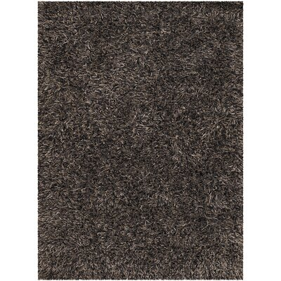 Raminez Black Area Rug Rug Size: Rectangle 9 x 13