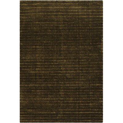 Ulrika Brown/Green Area Rug Rug Size: 79 x 106