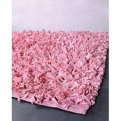 Appel Light Pink Area Rug Rug Size: Runner 26 x 6