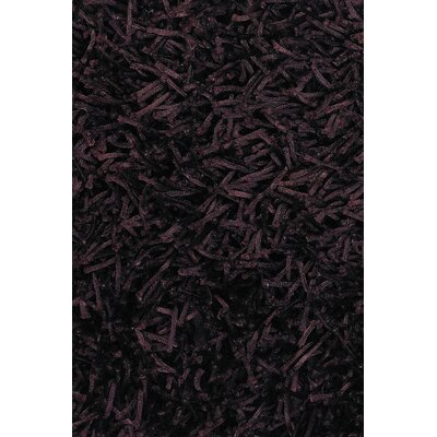 Zara Dark Brown Area Rug Rug Size: Rectangle 79 x 106