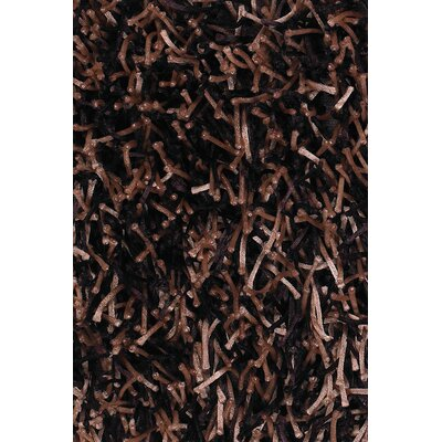 Zara Brown Area Rug Rug Size: 79 x 106
